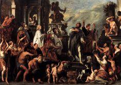 Apostles Paul and Barnabas in Lystra // 1645 // Jacob Jordaens // Akademie der bildenden Künste, Vienna