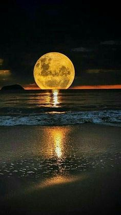 Full moon.. Beautiful