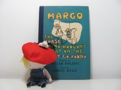 Vintage 1945 Book Margo The Horse Who Wouldn't Stay by pipipompon, $16.00
