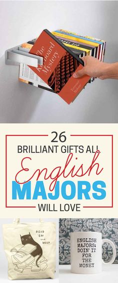 26 Brilliant Gifts Only English Nerds Will Appreciate                                                                                                                                                                                 More