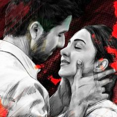 Cute Love Couple, Cute Couple Videos, She Quotes, Story Quotes, Bollywood Posters, Cute Couples Kissing, Shahid Kapoor, Beautiful Nature Scenes, Actor Photo