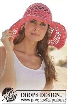 шляпы вязаные крючком Croche Facil e50dd2b5a23