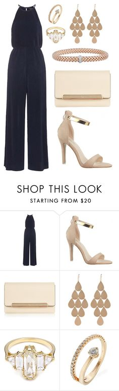 """""""Street style#97"""" by lizaskry ❤ liked on Polyvore featuring Topshop, Christian Louboutin, Irene Neuwirth, Delfina Delettrez and Fope"""