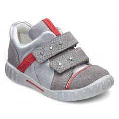 Pantofi copii piele ECCO Mimic (metalic) - Copii