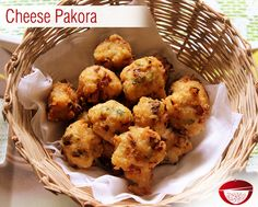 Cheese Pakora - Here is a recipe of delicious appetizer Cheese Pakora, which will tempt your taste buds.Visit: www.bestdesifood.com