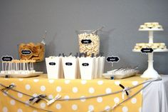 Love the idea of labeling foods by craving (salty for popcorn, sweet for cake, etc)!