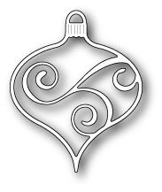 Memory Box - Dies - Scrollwork Ornament x in.Works With: 98917 - Traditional Ornament Christmas Stencils, Christmas Wood, Christmas Themes, Handmade Christmas, Christmas Crafts, Christmas Ornaments, Scandinavian Christmas, Memories Box, Aluminum Can Crafts