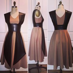 The Galactic Knight Flared Skirt Dress