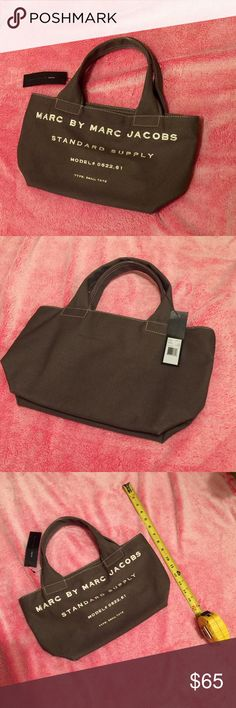 Marc Jacobs tote New with tag. No flaws. Dark gray color. Marc by Marc Jacobs Bags Totes