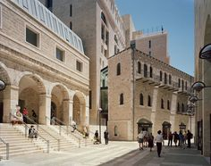 Safdie Architects, Lissoni Associati, hiepler, brunier,, Timothy Hursley · Mamilla Hotel