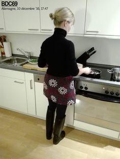 Carole en Le Chameau Alezan préparant le dîner hier à 17:47, en Allemagne on dîne vraiment tôt ! Scènes de la vie quotidienne comme je les a...