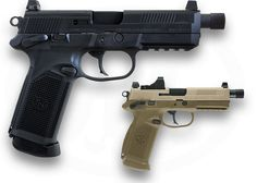 FNX™-45 TACTICAL ... Improving on the FNP™-45 Tactical, developed for the U.S. Joint Combat Pistol Program, the FNX™-45 Tactical is the latest in technological advancements in handgun engineering, offering.45 ACP performance and a host of unique features that no other handgun can match.