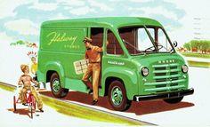 1954 Dodge Route Van.