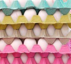 Egg carton colour