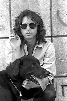 Mr. Mojo Risin', Jim Morrison. April 1968 photo by Paul Ferrara taken at Griffith Observatory in Los Angeles.