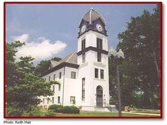 The old Fayette County Courthouse was built in 1825 in Fayetteville and is the oldest standing old courthouse in GA.  A National Historic Site it houses the Fayette County Chamber of Commerce and the Fayette County Development Authority. <3 nana gloria