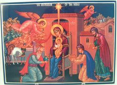 Adoration of the Magi icon....to copy for my diorama in atrium