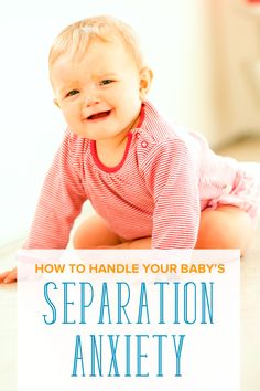 Separation anxiety in babies can sometimes throw parents off. Learn how to handle this normal but surprising milestone in children with these tips. A must read for any mom!