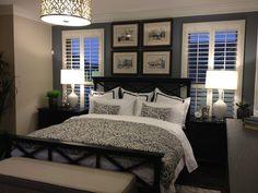Image result for black bed decor
