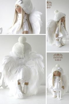 Angel doll Tilda doll Art doll Handmade doll by AnnKirillartPlace baby dolls accessories Click VISIT link above for more options - Caring For Your Collectable Dolls. Doll Toys, Baby Dolls, Dolls Dolls, Baby Doll Accessories, Pink Doll, Sewing Dolls, Waldorf Dolls, Soft Dolls, Amigurumi Doll