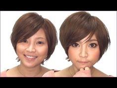 ナチュラルデカ目メイク Big eye makeup tutorial