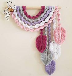 Radka Voříšková Little Girl Rooms, Little Girls, Ms Gs, Happy Monday, Macrame, Crochet Necklace, Rainbow, Colours, Pretty