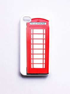iPhone 4 Case London Telephone Booth by onyourcasestore on Etsy, $16.99