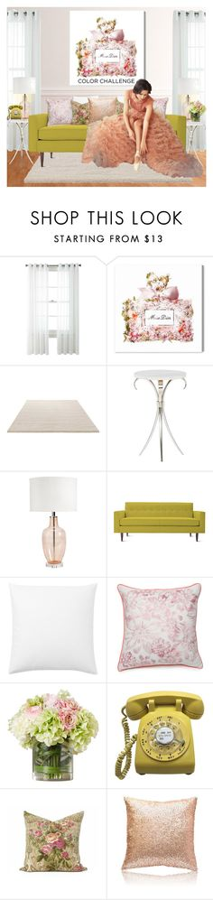 """Untitled #570"" by scarletj17 ❤ liked on Polyvore featuring interior, interiors, interior design, home, home decor, interior decorating, Studio, Oliver Gal Artist Co., ESPRIT and Ballard Designs"