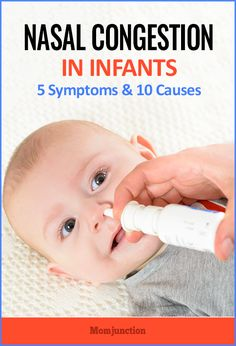 Nasal Congestion In Infants – 5 Symptoms And 10 Causes You Should Be Aware Of : So, what do you do in such a situation? Is there a way to identify the symptoms and act in time to prevent nasal congestion in babies?MomJunction guides you on that while also explaining the causes and the ways to bring some relief to your baby.