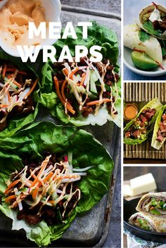 Protein Wraps | Wraps with Meat