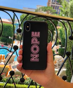 *sick day NOPE Case for iPhone X, iPhone 8 aplus / 7 Plus & iPhone 8 / 7 from Elemental Cases #nope #elementalcases #iphonex #iphone8plus #iphone8 #iphone7 #iphone7plus