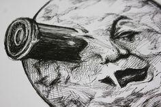 Le Voyage dans la Lune - Original Illustration