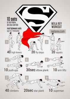 Superman workout ;)