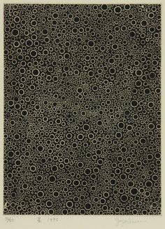 """""""Stars"""", design: Yayoi Kusama, 1995, Japan"""