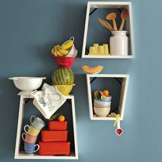 i love this to store coffee cups ect when when there is little counter space or cabinet space
