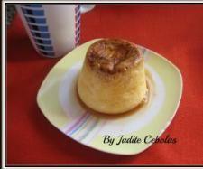 Receita Pudim da caneca (no microondas) por Judite Chicarro Cebolas - Categoria da receita Sobremesas