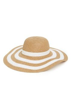 Free shipping and returns on Amici Accessories Floppy Hat (Juniors) at Nordstrom.com. A floppy brim distinguished by sunny stripes styles a summer-fresh hat perfect for relaxing poolside.