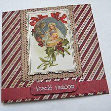 Papiernictvo - Vianočná pohľadnica - 5931298_