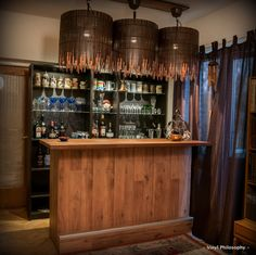 DIY Home Bar built from BILLY bookcases - IKEA Hackers