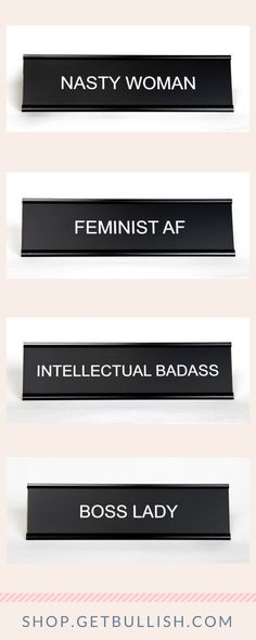 33 feminist gifts for all the badass women you love badass women over a dozen feminist girlboss epic nameplates available in the getbullish shop fandeluxe Images
