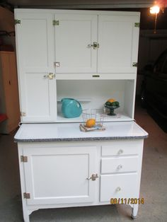 Good Hoosier Cabinet Refinished | Hoosier Cabinets | Pinterest | Hoosier Cabinet,  Cabinet Refinishing And Kitchen Things