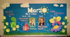 Periodico mural marzo English Classroom Decor, English For Beginners, School Murals, School Decorations, School Classroom, Grade 1, Bulletin Boards, Kindergarten, Preschool