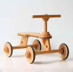 Retro Ride On Toy by bellalulu on Etsy.