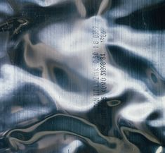 banquethall:  New Order - Brotherhood (Collector's Edition)Designed by Peter Saville, shot by Trevor KeyPhoto of titanium-zinc alloy sheet m...