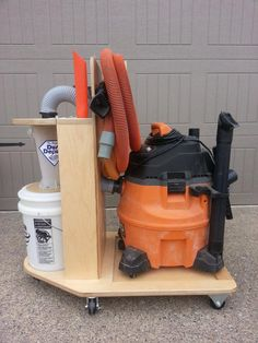 , How To Convert a Shop Vac Into a Cyclone Dust Collector , Oneida's Dust Deputy Kit turns your shop vacuum into a very efficient cyclone dust collector. At least 90 percent of what goes into the hose is collec.