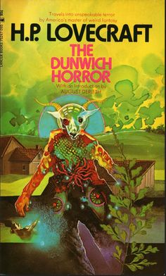 The Dunwich Horror by HP Lovecraft (Lancer Hp Lovecraft, Lovecraft Cthulhu, Horror Fiction, Horror Books, Sci Fi Books, Pulp Fiction, Science Fiction, Horror Comics, Horror Films