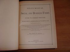 Old Business Etiquette 1887 Letters Hand Writing Penmanship Victorian Typography   eBay