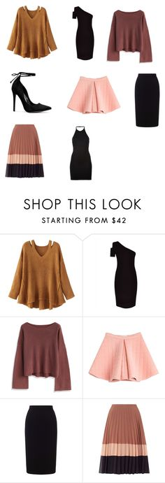 """prendas SI"" by lu-paaini on Polyvore featuring moda, WithChic, Jaeger, Chicwish, Marina Hoermanseder, Roland Mouret, Miss Selfridge y Balmain"
