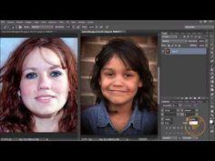 Corregir el color de la piel - Tutorial Photoshop en Español - YouTube