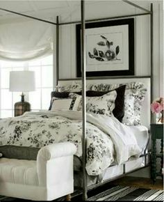 Ethan Allen Home Office Bedroom Bed White Guest Bedrooms